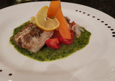 Geschmackvoll angerichtetes Gericht bei Ihrem Italiener in Augsburg-Hammerschmiede