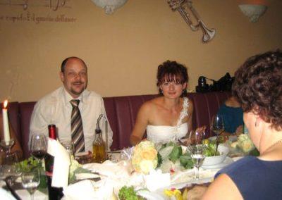 Hochzeitsfeier bei Ihrem Italiener in Augsburg-Hammerschmiede