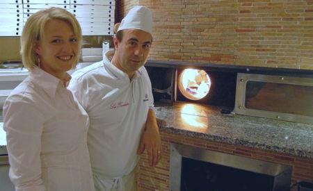 Guiseppe und Michaela Palermo in ihrem italienischen Restaurant La Traviata